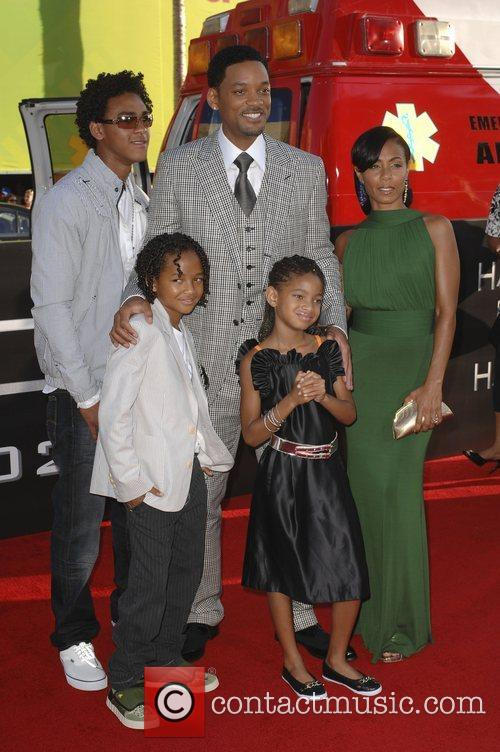 Trey Smith, Jada Pinkett-Smith and Will Smith 1