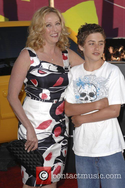 Virginia Madsen and Son 3