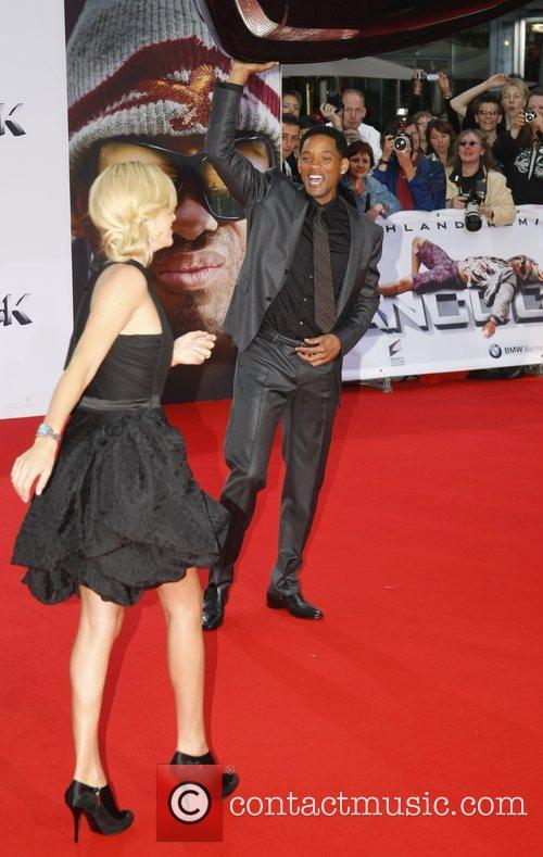 Charlize Theron, Will Smith German premiere of Hancock...