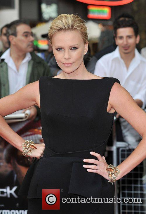 Charlize Theron Premiere of 'Hancock' at Vue West...