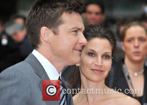 Amanda Anka and Jason Bateman London premiere of...