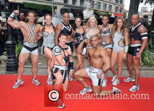 Gladiators London premiere of 'Hancock' at Vue West...