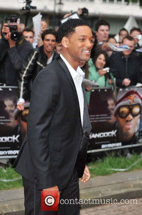 Will Smith London premiere of 'Hancock' at Vue...