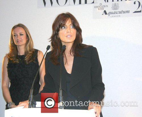 Claudia WInkleman The Harper's Bazaar Women of the...