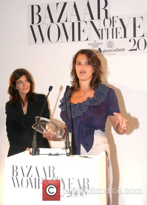 Claudia Winkleman and Tracy Emin The Harper's Bazaar...
