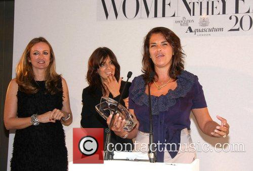 Lucy Yeomans, Claudia Winkleman and Tracy Emin The...