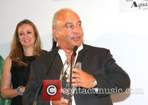 Lucy Yeomans and Sir Philip Green The Harper's...