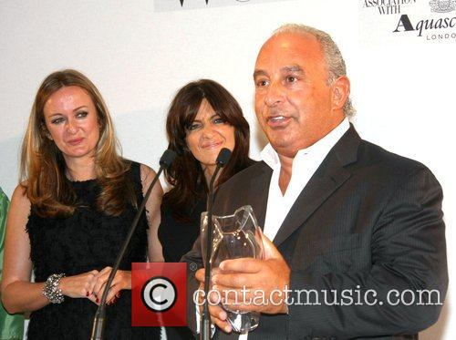 Lucy Yeomans, Claudia Winkleman and Sir Philip Green...
