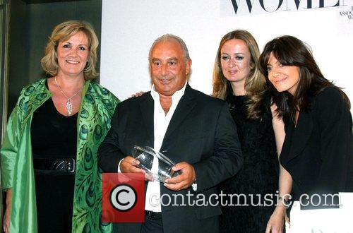 Sara Blakely, Sir Philip Green, Lucy Yeomans and...