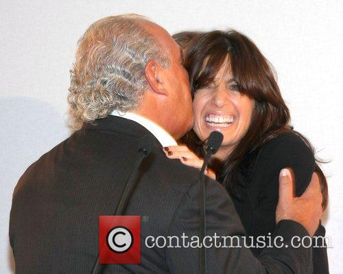 Sir Philip Green and Claudia Winkleman The Harper's...