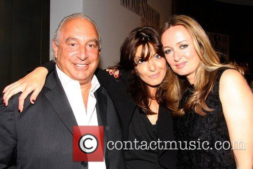 Sir Philip Green, Claudia Winkleman and Lucy Yeomans...