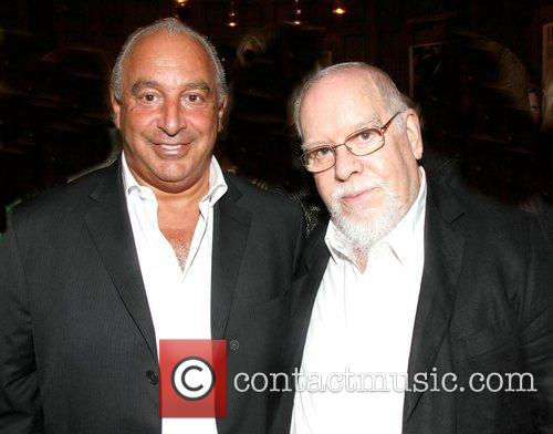 Sir Philip Green and Sir Peter Blake The...
