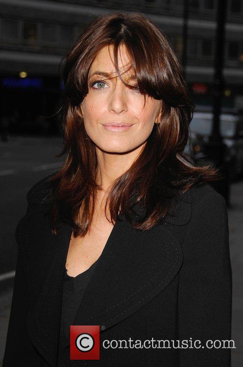 Claudia Winkleman arrives at Harper's Bazaar 'Women Of...
