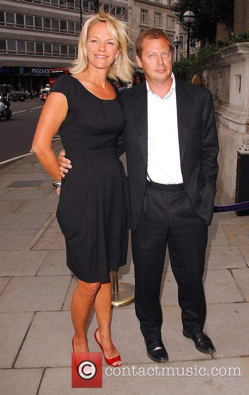 Elisabeth Murdoch and Matthew Freud  arrives at...