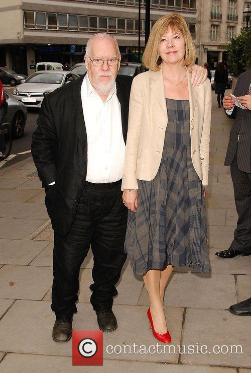 Peter Blake and Jann Haworth  arrives at...