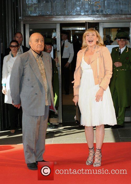 Kim Cattrall, Mohamed Al Fayed Harrods Summer Sale...
