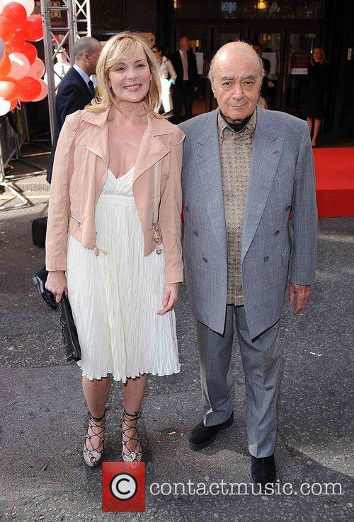 Kim Cattrall and Mohamed Al Fayed Harrods Summer...