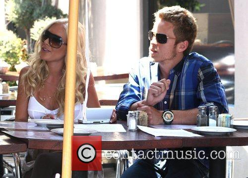 Heidi Montag and Spencer Pratt out and about...