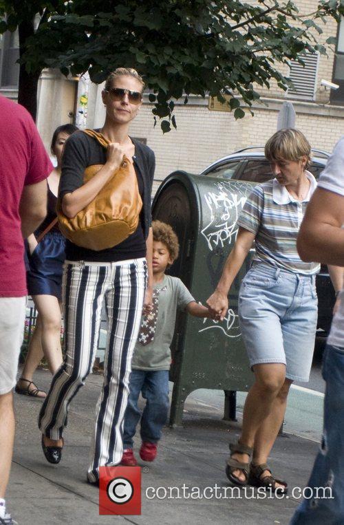 Heidi Klum and Her Family 3