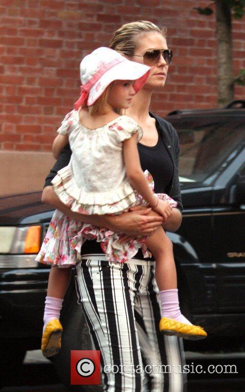 Heidi Klum and Her Family 9