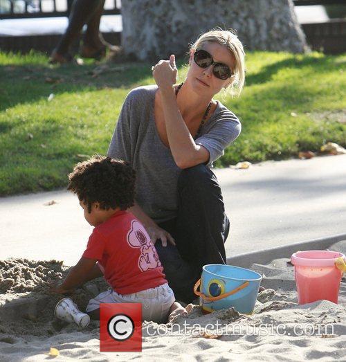 Heidi Klum and Seal 4