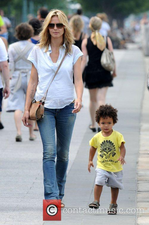 Heidi Klum and Son Johan Samuel 2