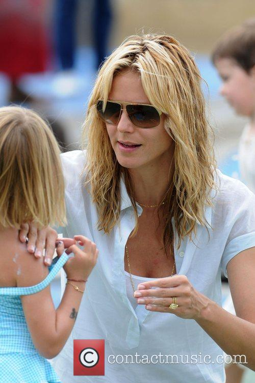 Heidi Klum and Daughter Leni Klum 3