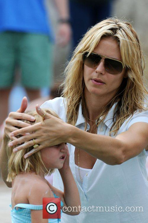Heidi Klum and Daughter Leni Klum 4