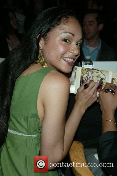 Karen Olivo CD signing for the In The...