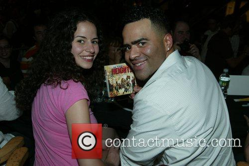 Mandy Gonzalez and Christopher Jackson CD signing for...