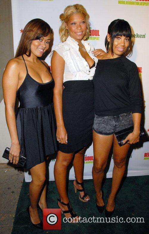 Bad Girls Ashanti and Goapele Kick-Off Heineken Red...