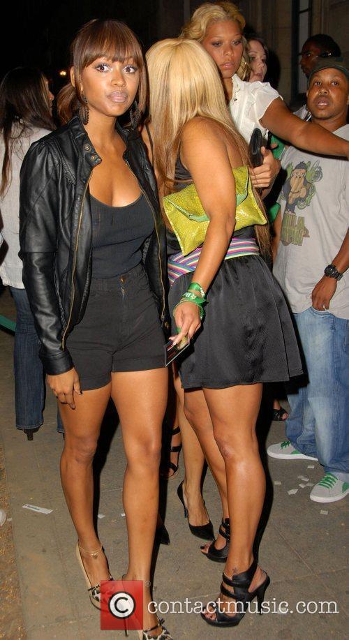 Megan Good Ashanti and Goapele Kick-Off Heineken Red...