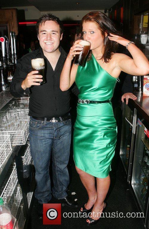 Alan Halsall and Helen Flanagan, stars of Coronation...