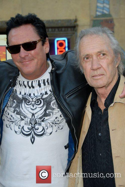 Michael Madsen, Dvid Carradine and Egyptian Theater 5