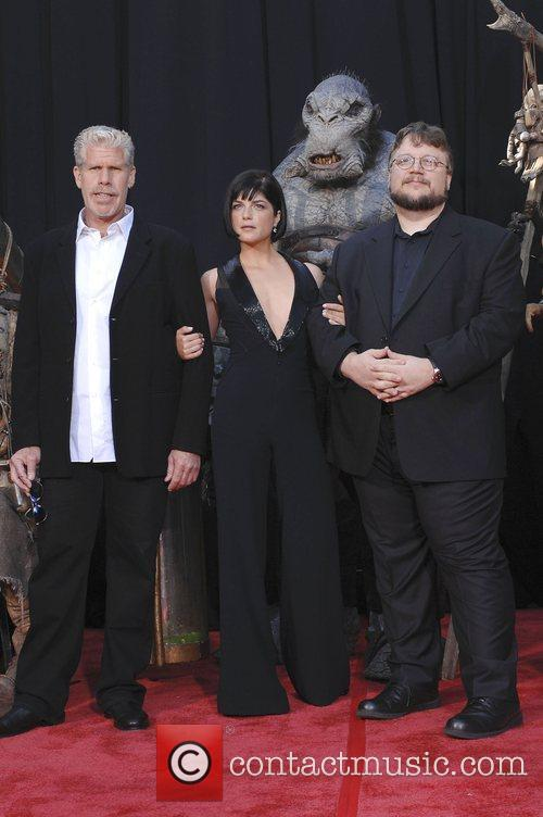 Guillermo Del Toro and Ron Perlman 7