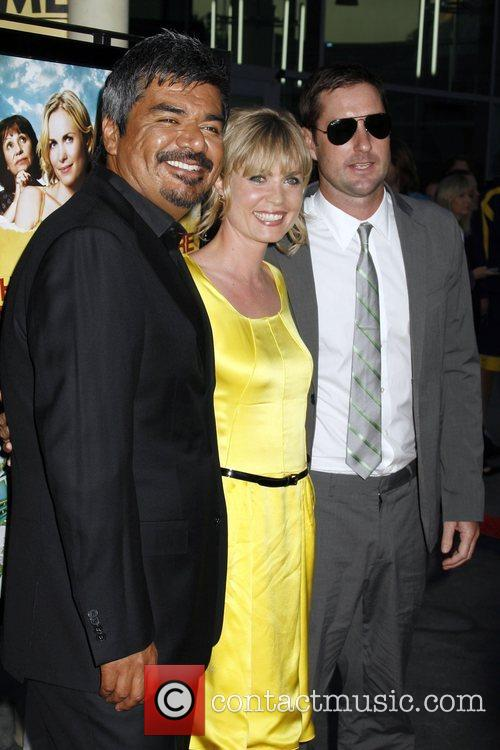 George Lopez and Radha Mitchell 8