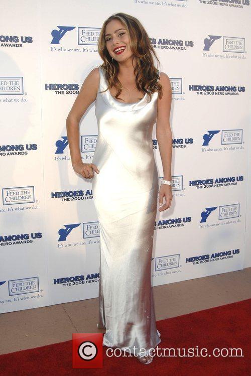Amanda Brooks The 2008 HERO Awards held at...