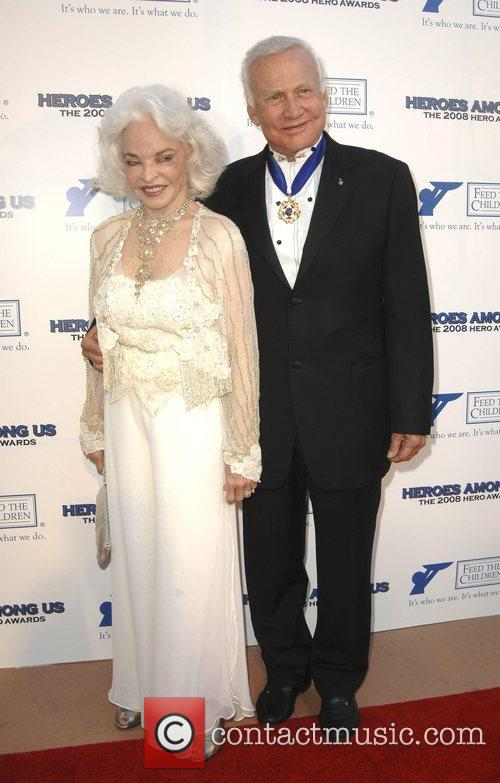 Buzz Aldrin and His Wife Lois 2