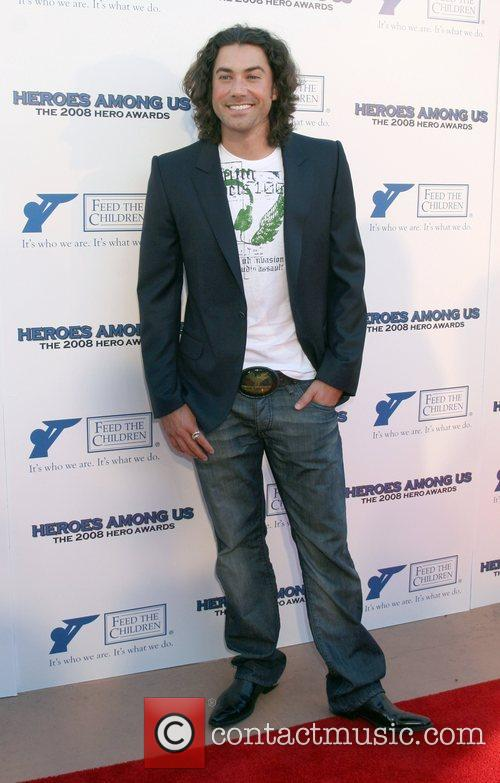Ace Young  2008 Hero Awards at the...