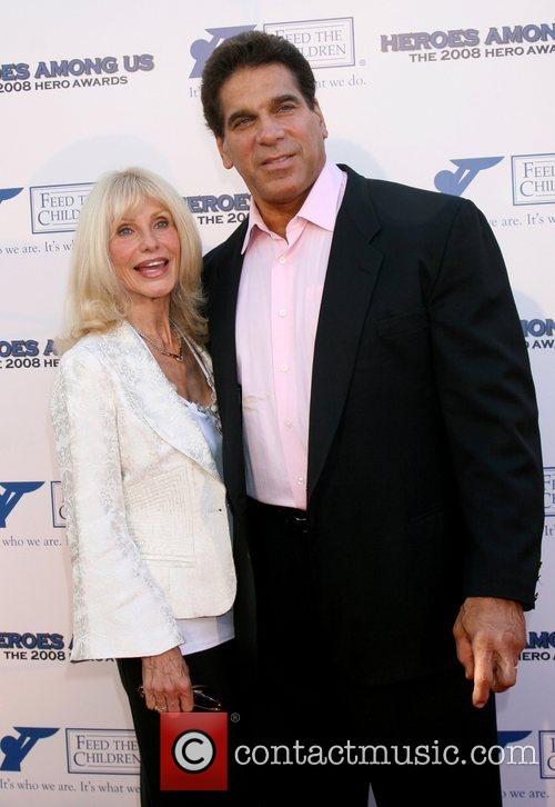 Carla Ferrigno and Lou Ferrigno 2008 Hero Awards...