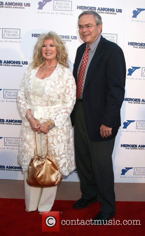 Connie Stevens and guest 2008 Hero Awards at...