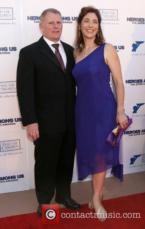 Gordon Clapp and guest 2008 Hero Awards at...
