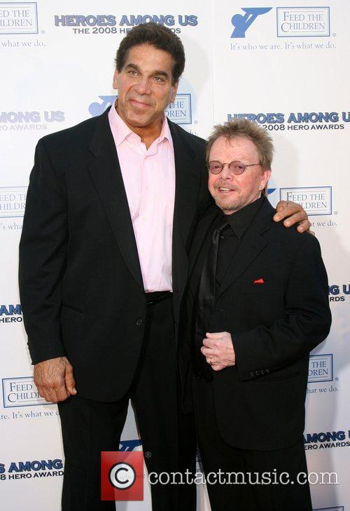 Lou Ferrigno and Paul Williams 1