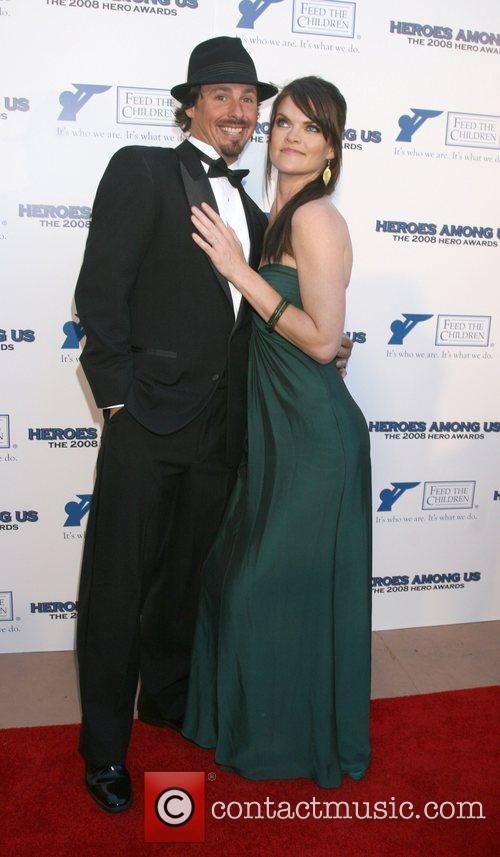 Missi Pyle and guest 2008 Hero Awards at...