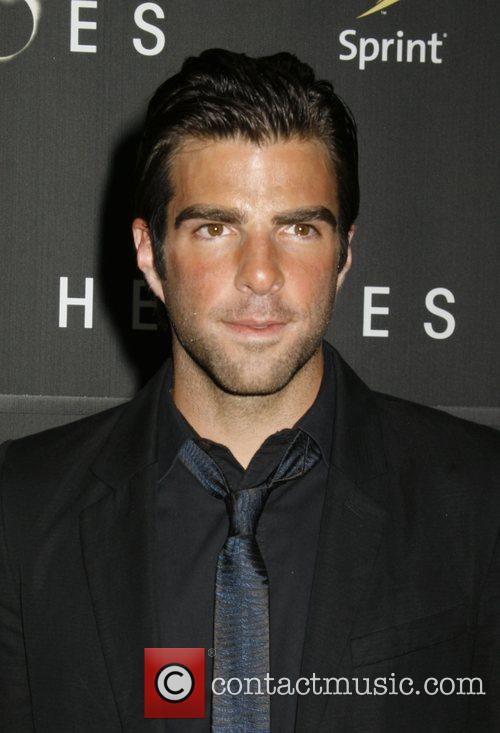 Zachary Quinto 'Heroes' countdown to the premiere at...