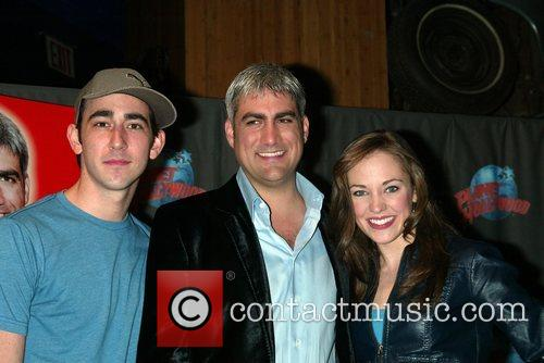 Max Crumm, Taylor Hicks and Laura Osnes...