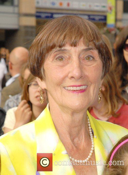 June Brown,  Arrivals at the 'High School...