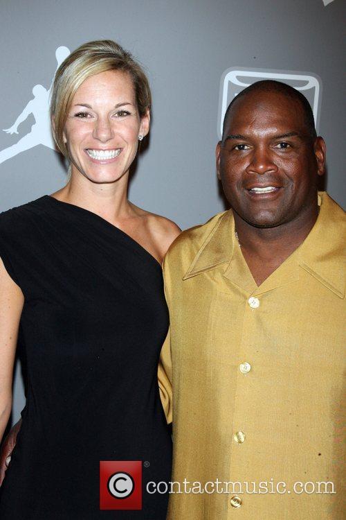 Anna Raines and Tim Raines Celebrities and Athletes...