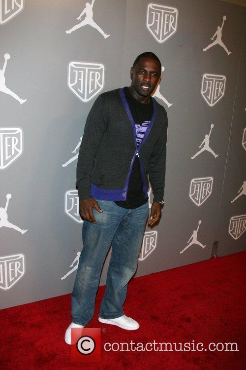Idris Elba Celebrities and Athletes Celebrate Derek Jeter...