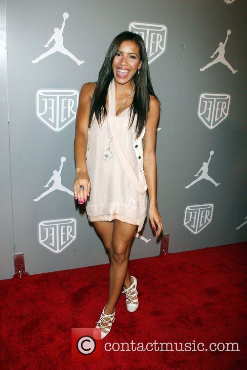 Julissa Bermudez Celebrities and Athletes Celebrate Derek Jeter...